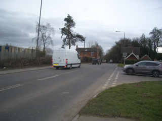 Old derby road / derby rd junction rhs ()