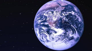 Earth from space (BBC)