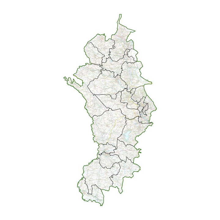 Map of proposed new wards (LGBC)